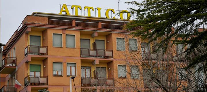 Hotel Attico - Esterno struttura
