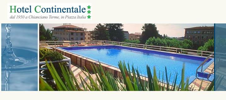 Hotel Continentale Chianciano Terme